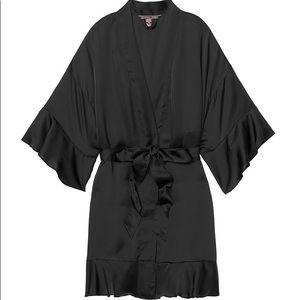 Victoria's Secret Lace & Satin Kimono